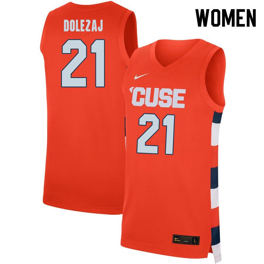 2020 Women #21 Marek Dolezaj Syracuse Orange College Basketball Jerseys Sale-Orange